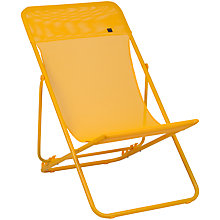Buy Lafuma Maxi Transat Deck Chair, Banana Online at johnlewis.com