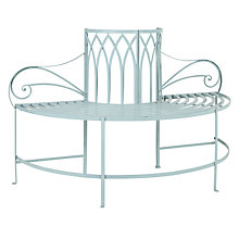 Buy John Lewis Vichy Half Round Tree Bench Online at johnlewis.com