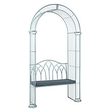 Buy John Lewis Vichy 2 Seater Arbour Bench Online at johnlewis.com
