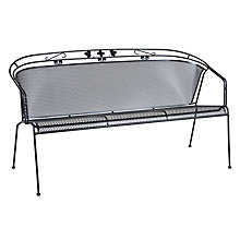 Buy KETTLER Henley 3 Seater Outdoor Bench Online at johnlewis.com