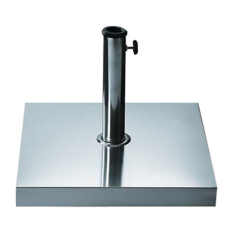 Buy John Lewis Stainless Steel Baseweight, 25kg Online at johnlewis.com