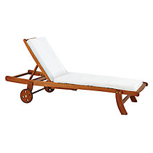 Buy John Lewis Naples Sunlounger Online at johnlewis.com