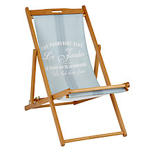 Buy John Lewis Deck Chair Sling, Maison Stripe Online at johnlewis.com