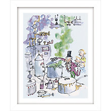 Buy Quentin Blake - Roald Dahl, Charlie and the Chocolate Factory Framed Print, 38.5 x 31cm Online at johnlewis.com