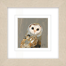 Buy Julia Burns - Red Hen Owl Framed Potato Print, 35 x 35cm Online at johnlewis.com