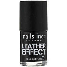Buy Nails Inc. Leather Effect Nail Polish, 10ml Online at johnlewis.com