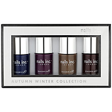 Buy Nails Inc. Autumn / Winter Nail Collection, 4 x 10ml Online at johnlewis.com