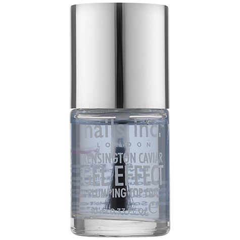 Buy Nails Inc. Kensington Caviar Gel Look Top Coat, 10ml Online at johnlewis.com