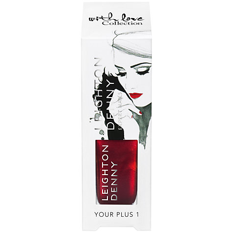 Buy Leighton Denny With Love Collection Nail Polish, Your Plus 1 Online at johnlewis.com