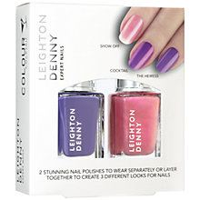 Buy Leighton Denny Colour Cocktail Beach 2 Bar, 2 x 12ml Online at johnlewis.com