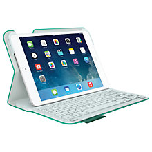 Buy Logitech Ultrathin Keyboard Folio with Autowake for iPad mini & iPad mini with Retina display, Green plus FREE Logitech iPhone/ iPod touch Gaming Controller Online at johnlewis.com