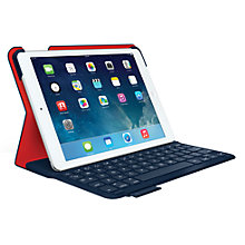 Buy Logitech Ultrathin Keyboard Folio with Autowake for iPad Air, Navy plus FREE Logitech iPhone/ iPod touch Gaming Controller Online at johnlewis.com