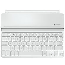 Buy Logitech Ultrathin Keyboard Cover for iPad Air, White plus FREE Logitech iPhone/ iPod touch Gaming Controller Online at johnlewis.com