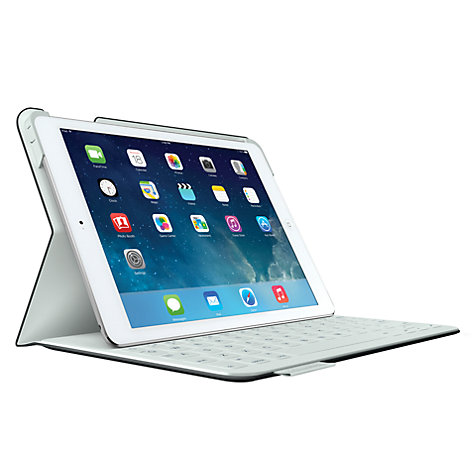 Buy Logitech Fabricskin Keyboard Folio for iPad Air Online at johnlewis.com
