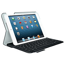Buy Logitech Ultrathin Keyboard Folio with Autowake for iPad mini & iPad mini with Retina display, Black plus FREE Logitech iPhone/ iPod touch Gaming Controller Online at johnlewis.com