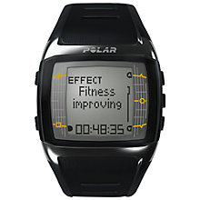 Buy Polar Men's FT60 Fitness Watch, Black Online at johnlewis.com