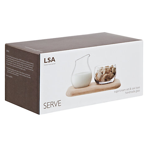 Buy LSA Serve Sugar & Cream Set Online at johnlewis.com