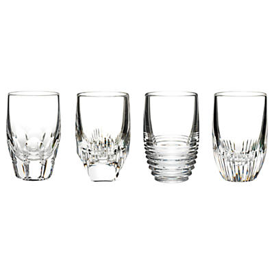 Waterford Mixology Shot Glasses, Set of 4, Clear
