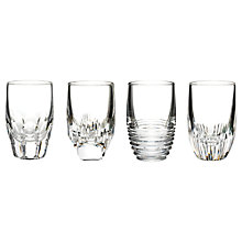 Buy Waterford Mixology Shot Glasses, Set of 4, Clear Online at johnlewis.com