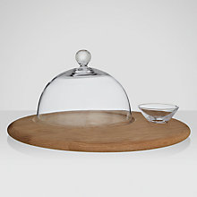 Buy LSA Serve Cheese Board and Dome Set Online at johnlewis.com