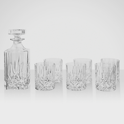 Royal Doulton Seasons Decanter and Tumbler Set, 7 Pieces