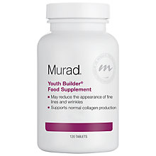 Buy Murad Youth Builder® Dietary Supplement, 120 Tablets Online at johnlewis.com