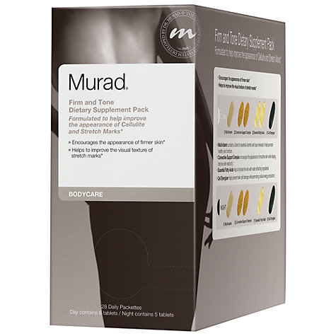 Buy Murad Firm And Tone Dietary Supplement Pack Online at johnlewis.com