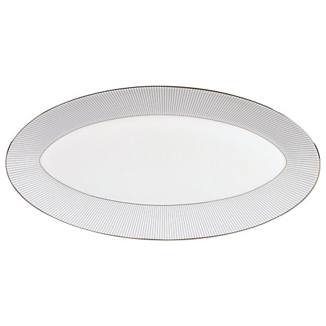 Buy Jasper Conran for Wedgwood Pinstripe Oval Dish Online at johnlewis.com