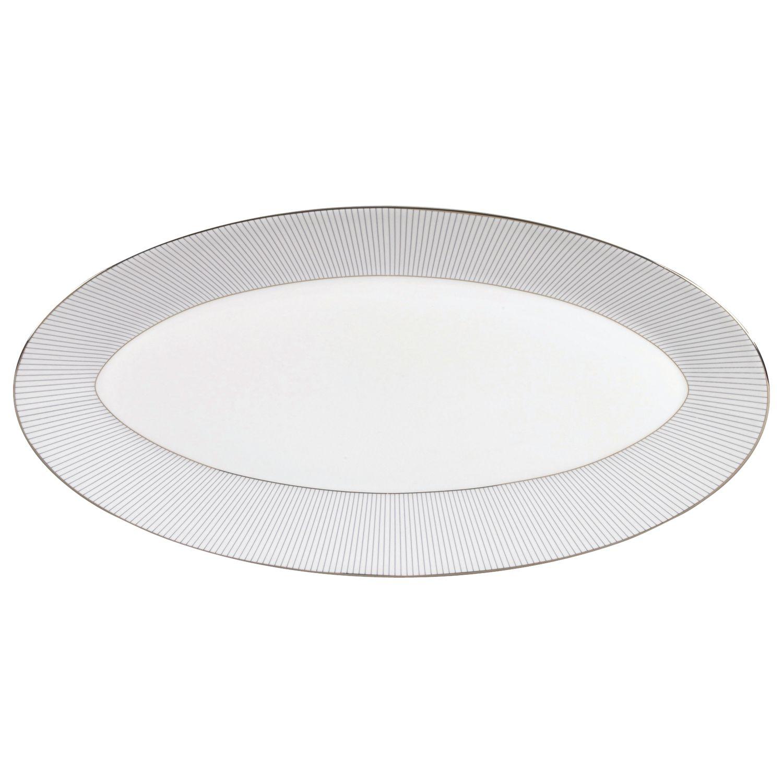 Jasper Conran Jasper Conran for Wedgwood Pinstripe Oval Dish