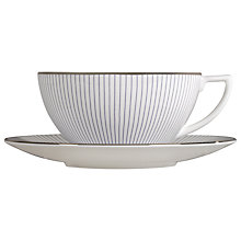 Buy Jasper Conran for Wedgwood Pinstripe Saucer Online at johnlewis.com