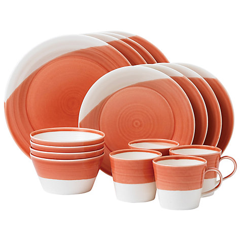 Buy Royal Doulton 1815 China Set, Coral Online at johnlewis.com