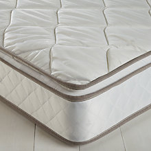 Buy John Lewis The Basics Open Pillowtop Mattress, Double Online at johnlewis.com