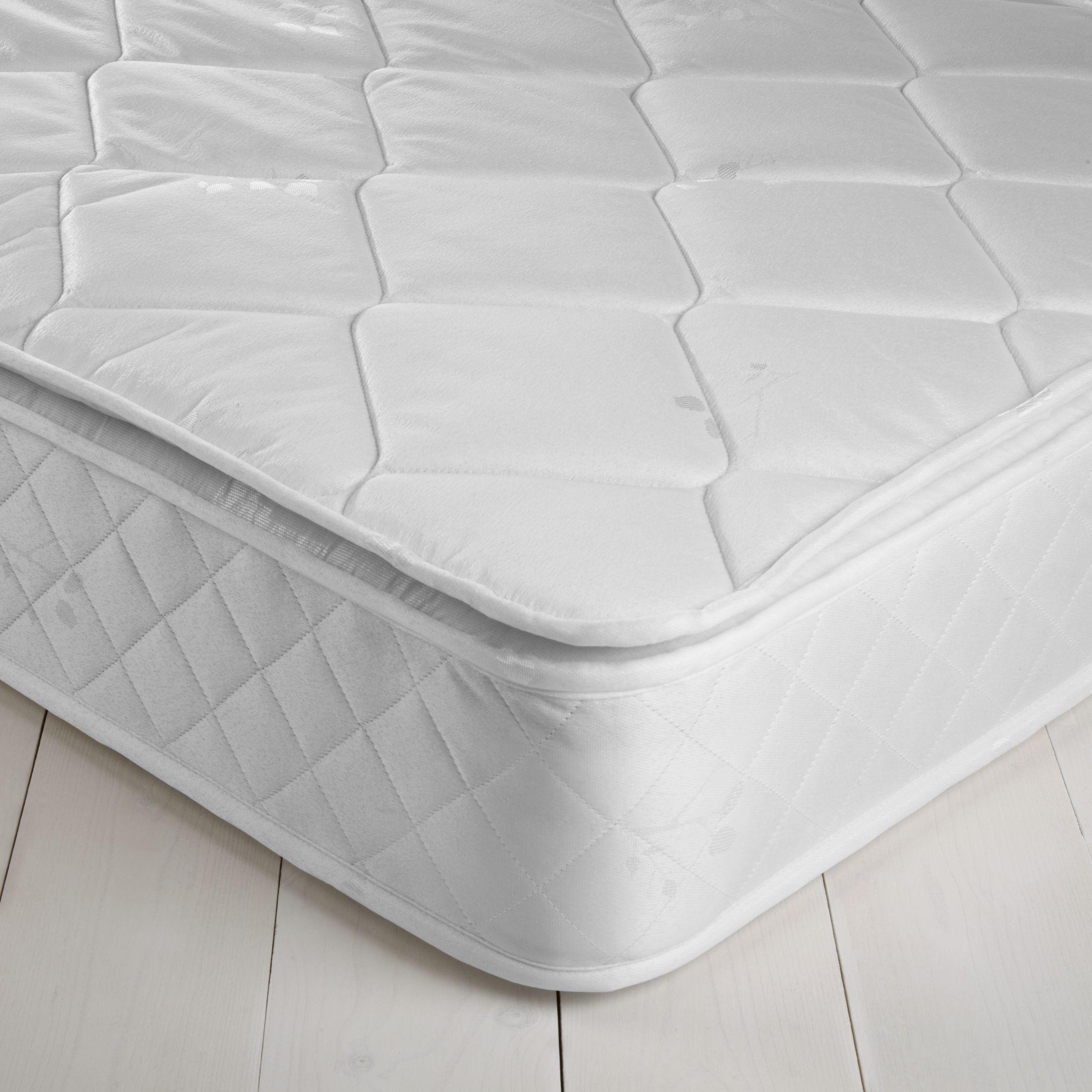 John Lewis Value Open Pillowtop Mattress, Single