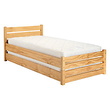 Buy John Lewis Buddy Guest Bed, Natural Online at johnlewis.com