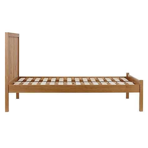Buy John Lewis Blake Oak Bedstead, Double Online at johnlewis.com