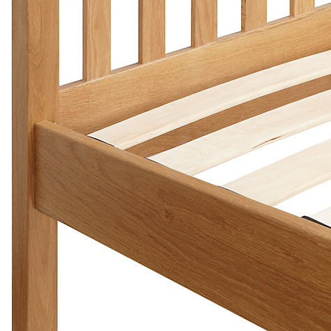 Buy John Lewis Blake Oak Bedstead, Kingsize Online at johnlewis.com