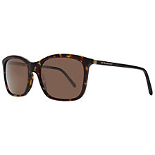 Buy Burberry BE4147 300273 Square Frame Sunglasses, Dark Havana Online at johnlewis.com