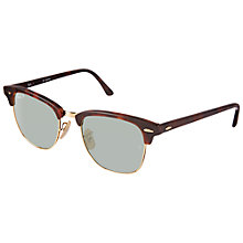 Buy Ray-Ban RB3016 51 Clubmaster Sunglasses, Havana Online at johnlewis.com