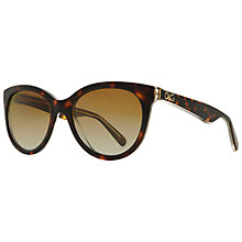 Buy Dolce & Gabbana DG4192 27378G Cat's Eye Acetate Sunglasses Online at johnlewis.com