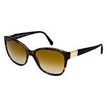 Buy Dolce & Gabbana DG4195 Cat's Eye Polarised Sunglasses, Havana Online at johnlewis.com