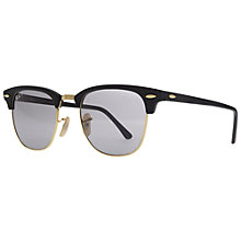 Buy Ray-Ban RB3016 Wayfarer Polarised Sunglasses, Matte Black Online at johnlewis.com