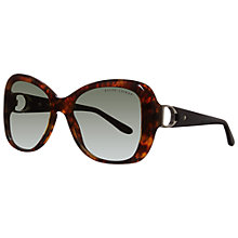 Buy Ralph Lauren RLl8108Q 50178E Oversized Square Framed Acetate Sunglasses, Havana Online at johnlewis.com