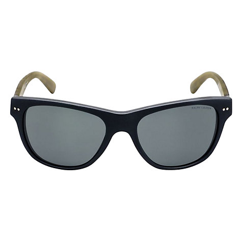 Buy Ralph Lauren PH4080  924573 Acetate Sunglasses, Black/Yellow Online at johnlewis.com