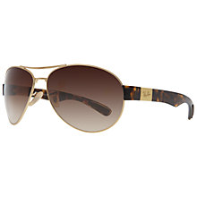 Buy Ray-Ban RB3509 Aviator Sunglasses, Arista Online at johnlewis.com