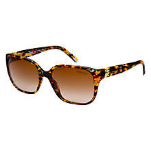 Buy Tiffany & Co TF4078b 81143b D-Frame Sunglasses, Havana Online at johnlewis.com