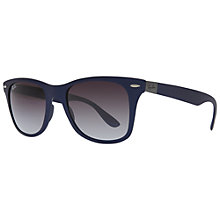 Buy Ray Ban RB4195 Lite Force Square Framed Sunglasses Online at johnlewis.com