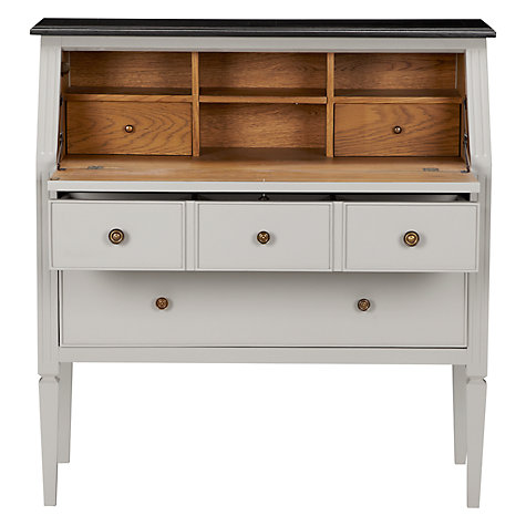 Buy John Lewis Amelie Bureau, Grey/Black Online at johnlewis.com