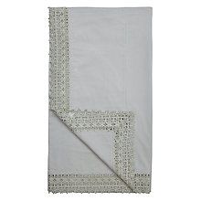 Buy John Lewis Maison Crochet Border Throw Online at johnlewis.com