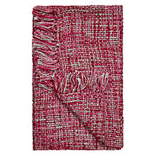 Buy John Lewis Tonal Weave Throw Online at johnlewis.com