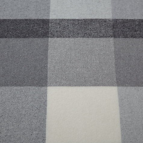 Buy John Lewis Large Check Throw Online at johnlewis.com